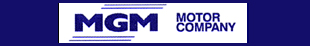 M G M Motor Co logo