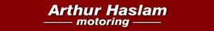 Arthur Haslam Motoring logo