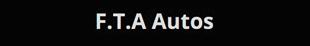 F.T.A Autos logo