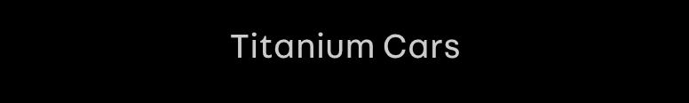 Titanium Cars Logo