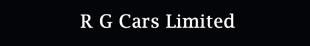 R G Cars Limited logo