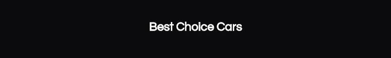 Best Choice Cars