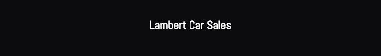 Lambert Car Centre