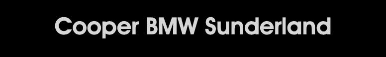 Cooper BMW Sunderland