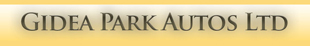 Gidea Park Autos logo