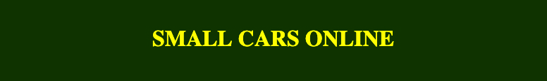 Small Cars Online