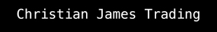 Christian James Trading logo