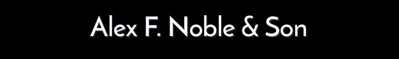 A F Noble & Son Nissan Logo