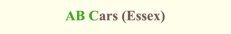 AB Cars (Essex) Logo