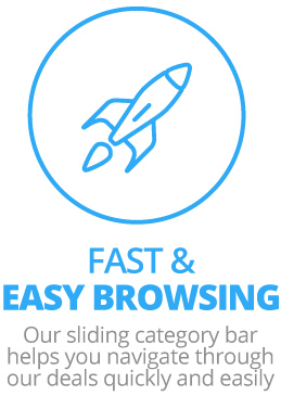 Fast & Easy Browsing