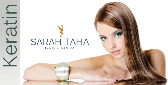 beauty taha sarah keratin center hair