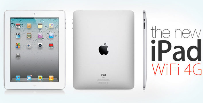 iPad 3 16GB + 4G (White)