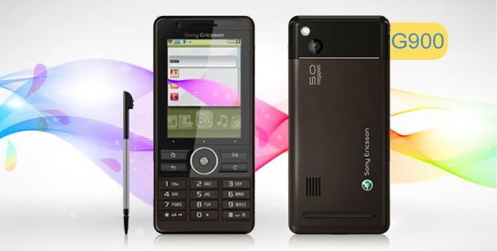 Sony Ericsson G900 mobile phone