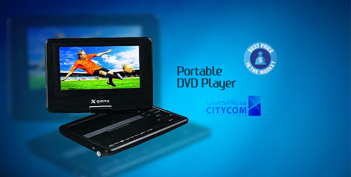 GenX Portable DVD Player
