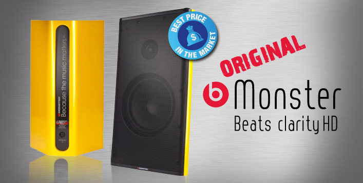 Beats Clarity Speakers by Dr. Dre