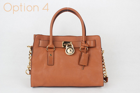 439f1511a7e7 Small Brown Michael Kors Hamilton Handbag - 100% Authentic handbag - dust  bag