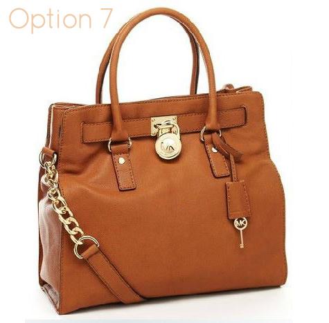 2903ddacec49 Large Brown Michael Kors Hamilton Handbag - 100% Authentic handbag - dust  bag