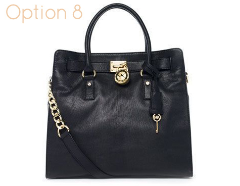 11e68bfba842 Large Black Michael Kors Hamilton Handbag - 100% Authentic handbag - dust  bag, tag and authenticity card are included - Black leather - Golden  Hardware