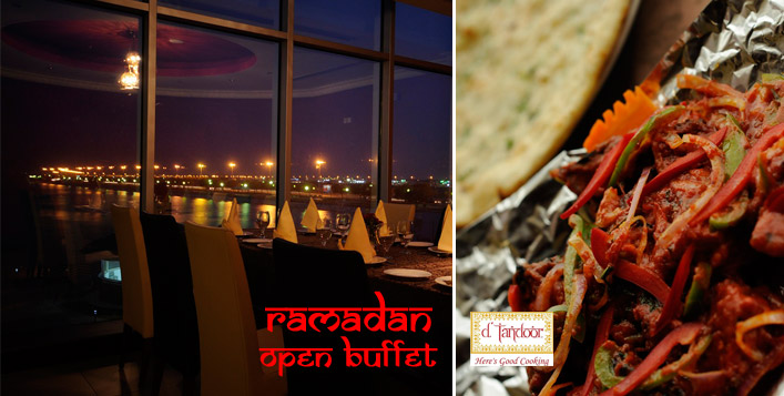 Exotic Iftar Buffet at D'Tandoor