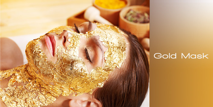 Golden Mask + Black head cleaning