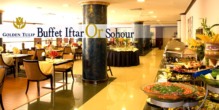 Iftar or Suhour at Golden Tulip