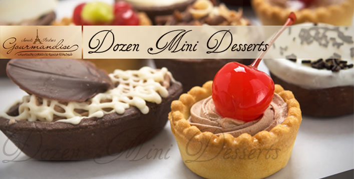 Dozen Mini Desserts from Gourmandise