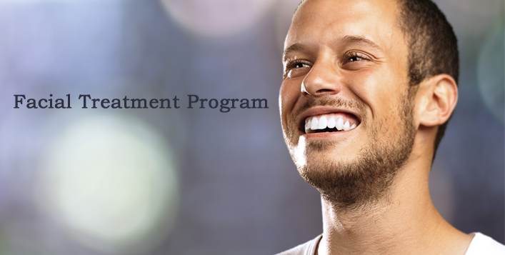 Facial Treatment Programme for men