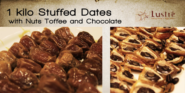 1 Kilo of Stuffed Dates at Lustre