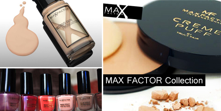 Max Factor Makeup Bundle