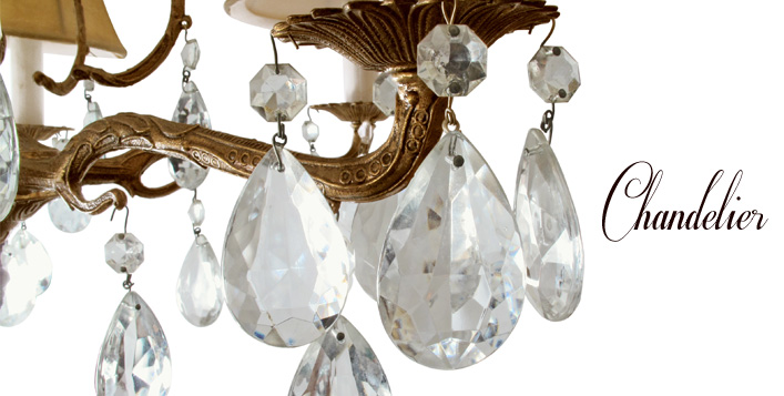 Iron or Classic Crystal Chandeliers