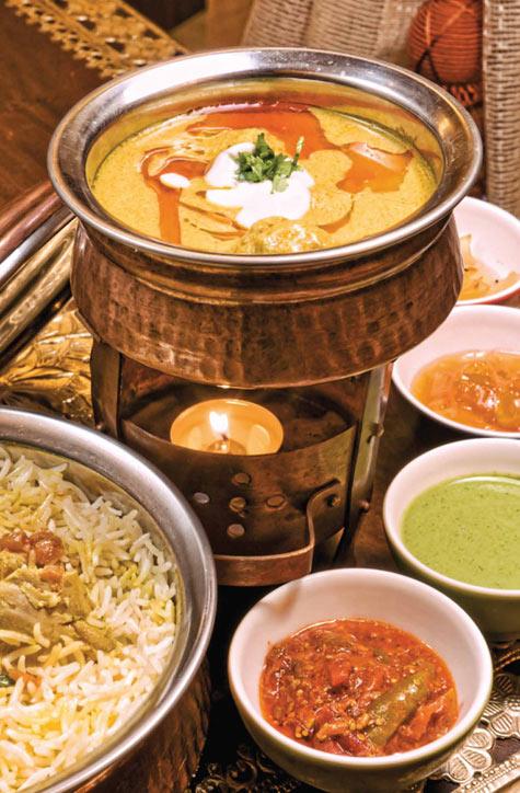 بوفيه المأكولات الهندية كوبون صفقات