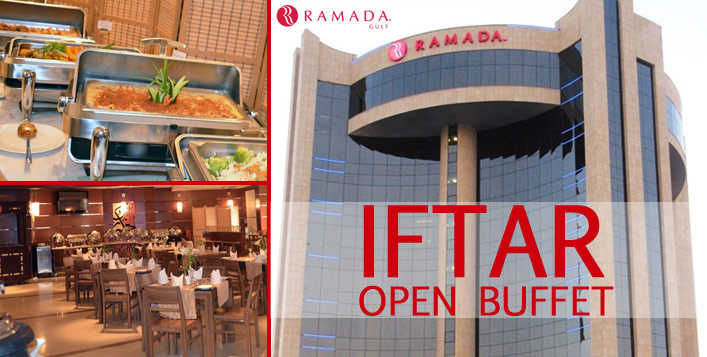 Open Iftar Buffet at Ramada Gulf