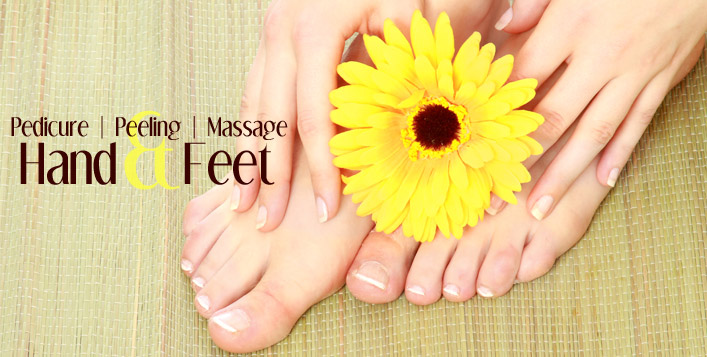 Hands + Feet Peeling and massage