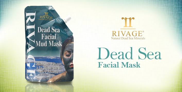 Dead Sea Facial Mud Mask by Rivage