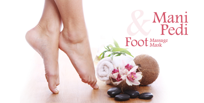 Mani-Pedi + Foot mask and massage