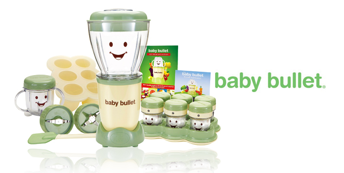 Baby Bullet Set for fresh baby food
