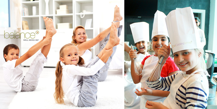 Cooking & Yoga Workshop for Kids