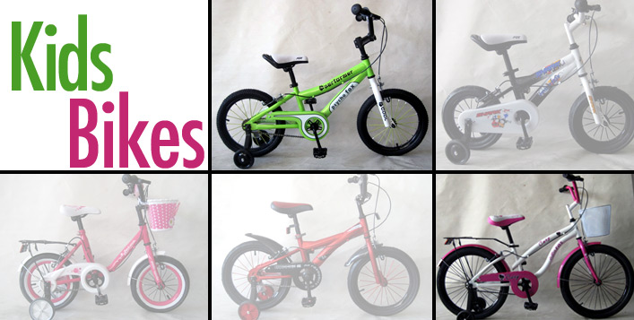 Kids' Bicycles with Bell
