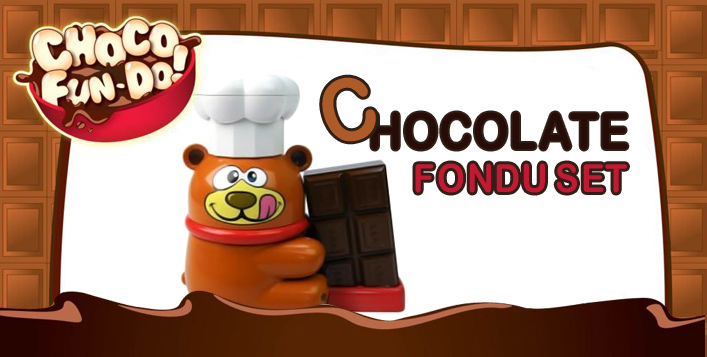Easy to Use Chocolate Fondue Set