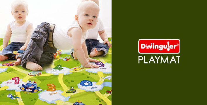 Cushioned, Waterproof Play Mat