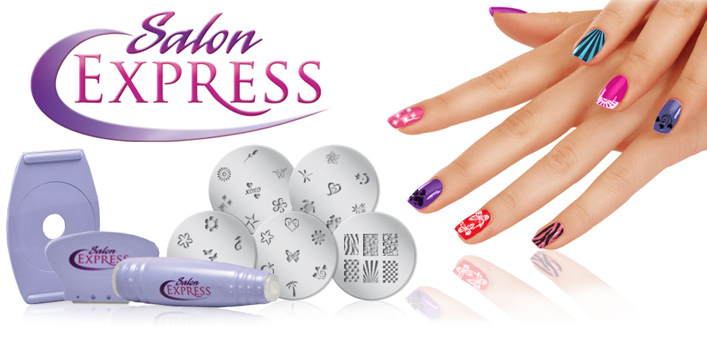 Easy-to-use nail design kit