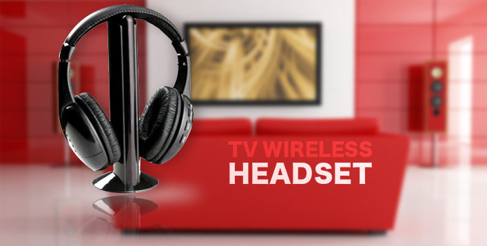 Wireless TV Headset