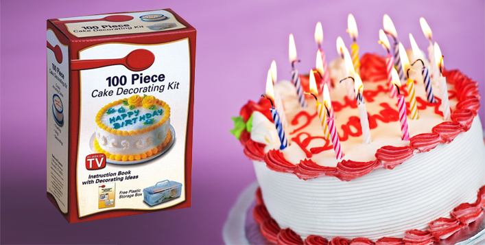 Image result for 100 Piece Cake Decorating Kit
