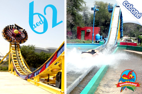 Spend a Day at Wonderland Theme and Waterpark