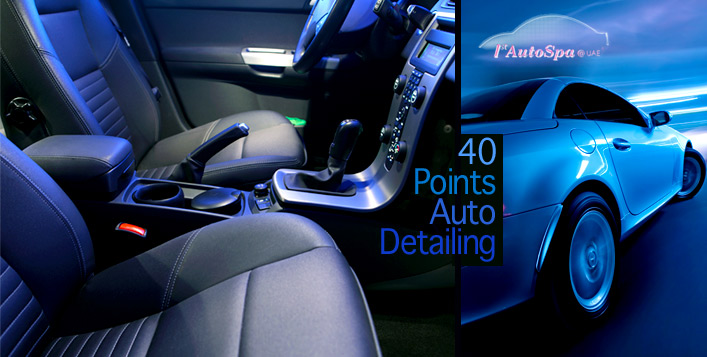 40-Point Auto Detailing at Home
