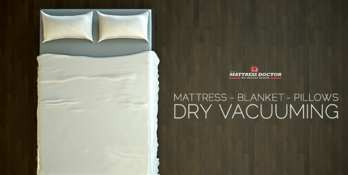 Mattress & Blanket Dry Vacuuming
