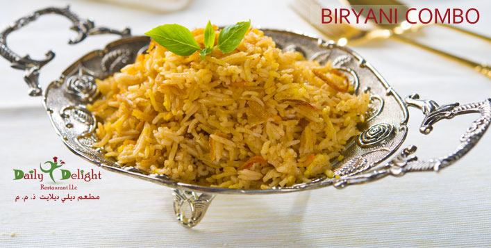 Biryani Combo Meal for 1, 4 or 5