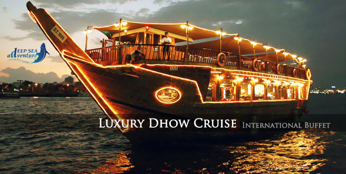 2-Hour Dhow Cruise with Buffet