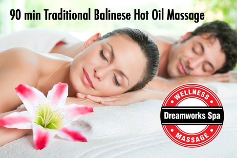 Treat yourself to a 90 minute traditional Balinese hot oil massage at Dreamworks for just AED 169 – valid at 5 locations in Dubai!