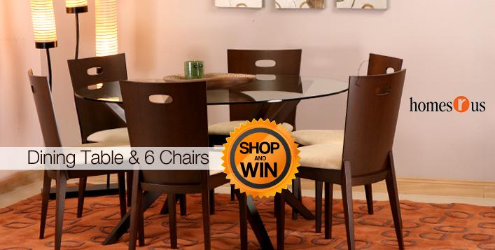 Elegant Dining Table Chair Set